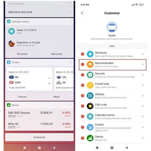 Gỡ bỏ bớt ứng dụng cho Xiaomi Redmi 7, Note 7