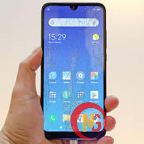 Mặt kính Xiaomi Redmi 7 bị mờ