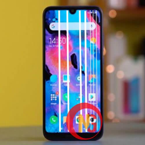 Màn hình Xiaomi Redmi 7, Note 7 bị sọc