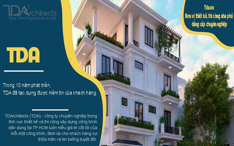Tda.vn - Đơn vị thiết kế, thi công nhà phố đẳng cấp chuyên nghiệp