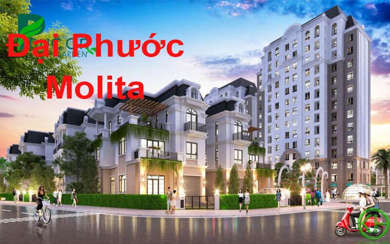 Nhà phố thương mại dự án Đại Phước Molita