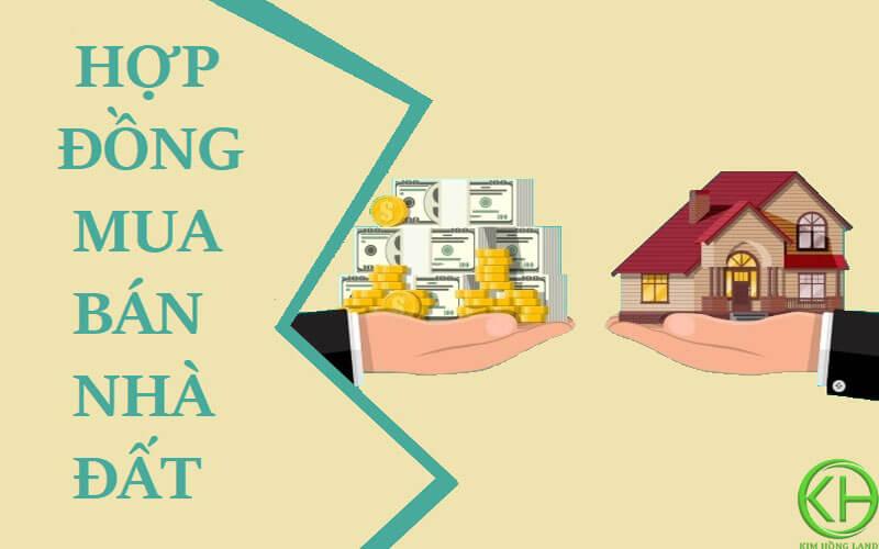 Định nghĩa hợp đồng mua bán nhà đất