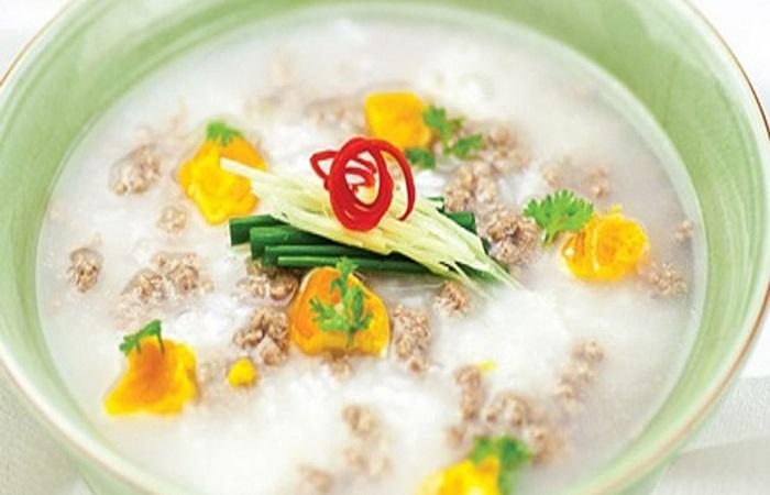 Các món cháo súp