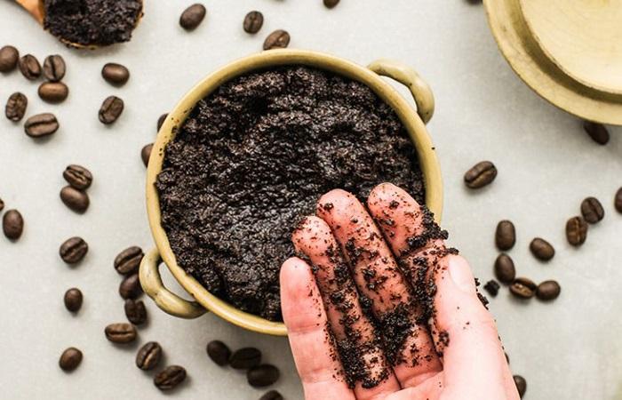 Sử dụng bã cà phê