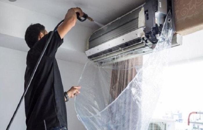 Dụng cụ vệ sinh máy lạnh